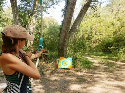 Archery session in Alcudia de Veo