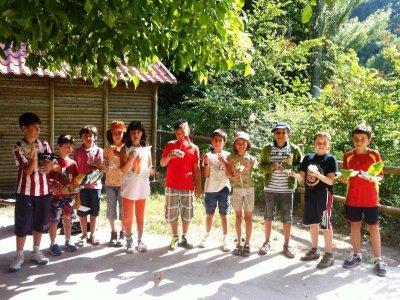 Campamento rural de inglés Vegafría 6 días junio