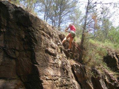 Abseil descent in Alcudia de Veo, 30 minutes