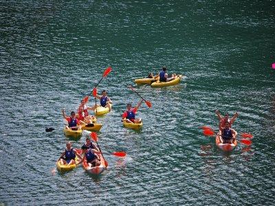 Giro in canoa nel bacino idrico di Benitandús, 1h
