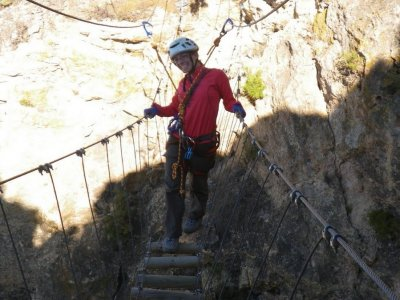1h Initiatory via ferrata in Benitandús