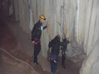 Caving session