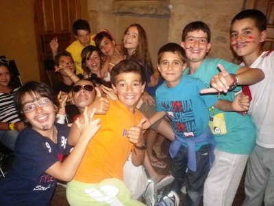 7月15日Vegafría的多次冒险营地