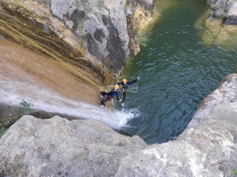 Aquatic canyon