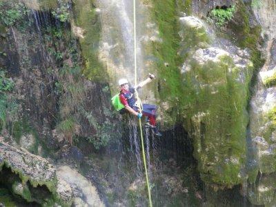 Iniciación al barranquismo acuático Sierra Espadán