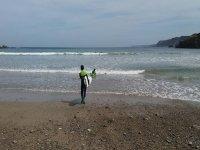 Il nostro studente di surf