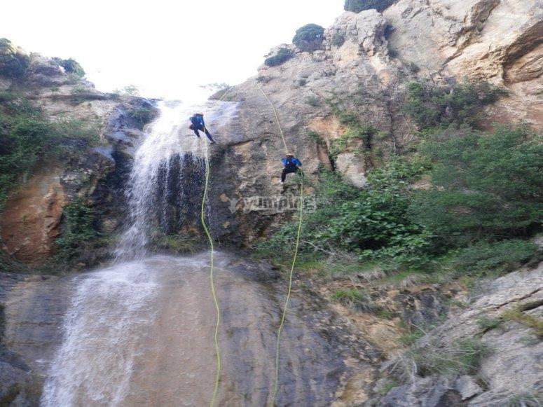 Canyoning level 2