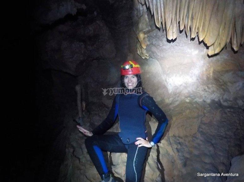 Aquatic cave