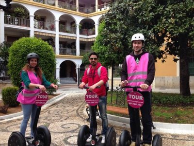 1 h segway route in Córdoba city