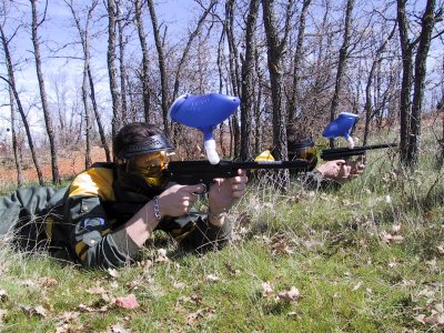Paintball in Fresno de la Fuente, Segovia - 100b