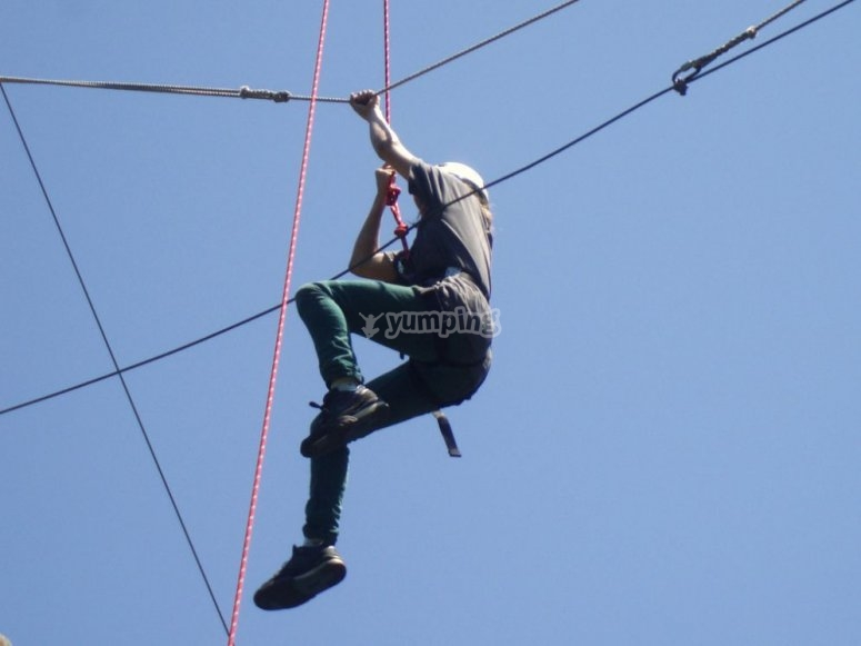 Children Zip-wire