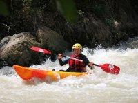 Descendiendo en kayak por el Río Genil