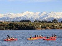 Kayak en el Embalse de Cubillas