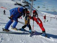 clases divertidas de esqui