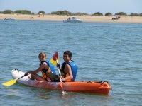 蓬塔翁布里亚的皮划艇路线2小时30分钟