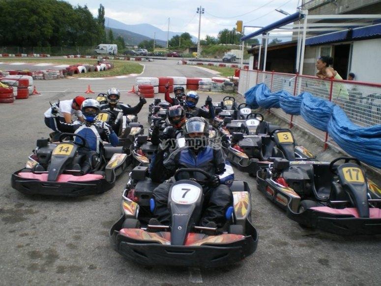 Manga de karting