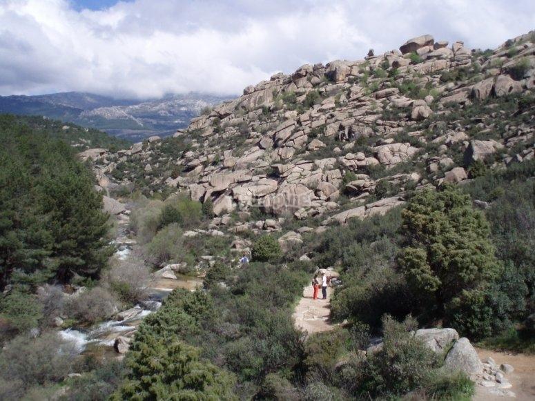 La Pedriza的下部区域