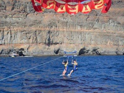 Jet ski, parapendio e jetboat a Mogán