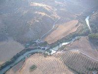 Vista aérea de río Genil
