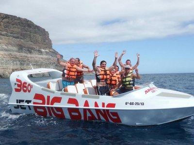 Moto de agua + crazy shark + jetboat en Mogán
