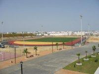Vistas del complejo deportivo