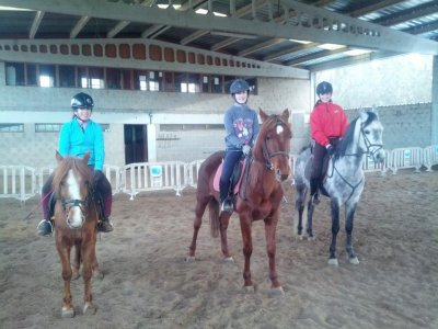 Package of Horse Riding Class + Route Palencia