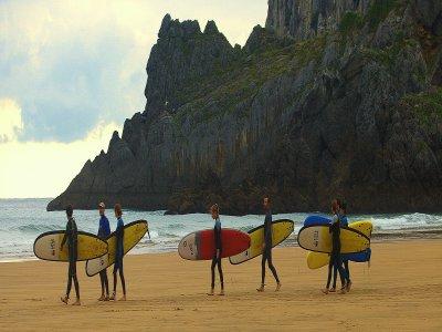 Surf Camp de fin de semana Adultos, Laga