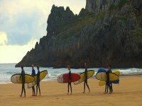 Clases de surf fin de semana País Vasco