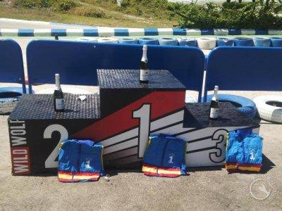 Gara di karting del Grand Prix nel circuito di Finestrat