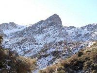 La sierra tras la nevada
