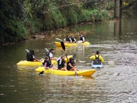 Activity in canoes