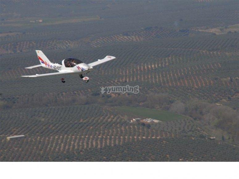 Volando por las alturas jienenses