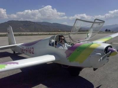 Motorised Glider Flight Baptism in Sierra Segura
