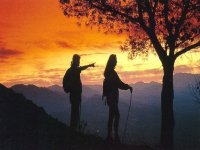 Urkiola的日落
