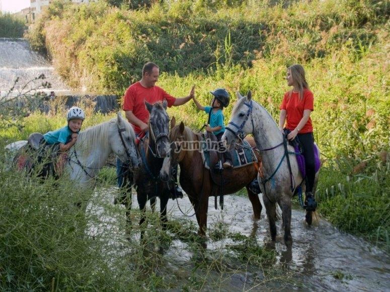Rutas con el caballo