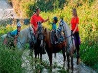 Horseback routes