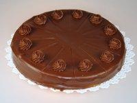 巧克力蛋糕挞