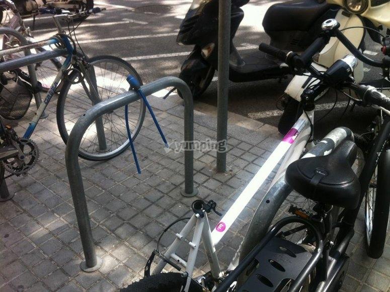 我们的电动自行车巴塞罗那