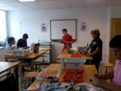 Campamento preingeniería Málaga, 5 días