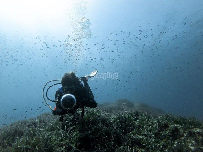 Disfrutando de los paisajes marinos de Cabo de Gata