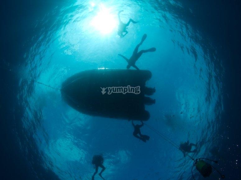 5 inmersiones