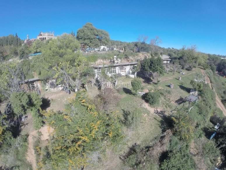 Campo de los barracones de paintball