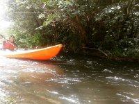 Descenso en kayak para niños río Águeda