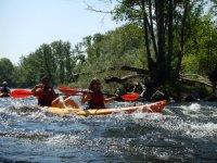 Percorso in kayak per coppie Fiume Tormes