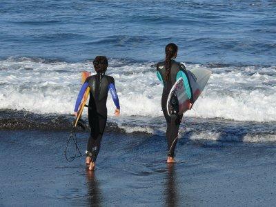 3天冲浪课程,Puerto de la Cruz