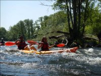 Remare sul fiume Agueda