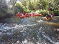 Percorso in kayak a Sesga Verde
