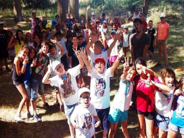 Concursos en el campamento