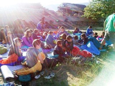 Campamento Sierra de la Demanda con inglés