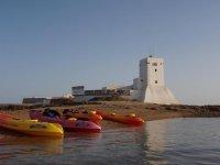 Kayaks en Cadiz
